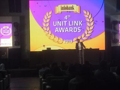 """CAR 3i Networks Online -  Berikut ini Daftar Asuransi dengan Produk Unit Link Terbaik Tahun 2019 yang dirilis Majalah Infobank dan Pasar Dana (PT Bina Investama Infonet) memberikan penghargaan """"4th Infobank Unit Link Awards 2019"""" kepada 17 perusahaan asuransi di Jakarta, Kamis, 11 April 2019. Ke-17 perusahaan asuransi tersebut adalah pemilik 63 produk unit link dengan kinerja terbaik selama satu tahun, dua tahun, lima tahun, dan 10 tahun."""