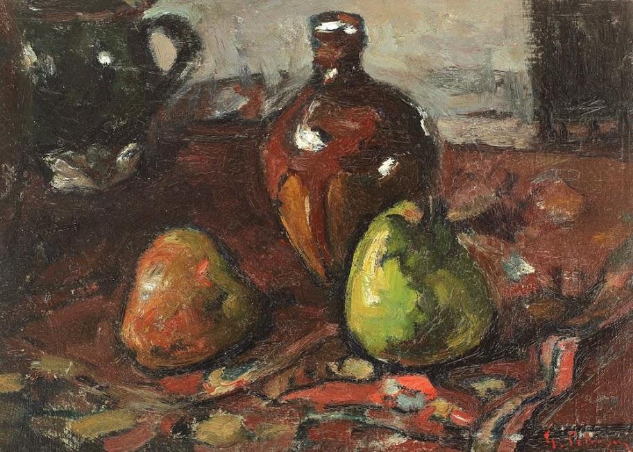 Gheorghe Petrașcu - Natură statică cu fructe și ulcică