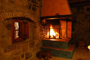Llar de foc Casa Gran masia Sant Miquel
