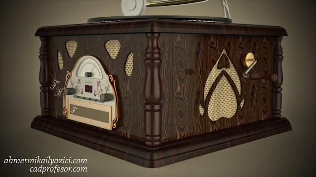 gramafon-ahmet-mikail-yazıcı-keyshot-6