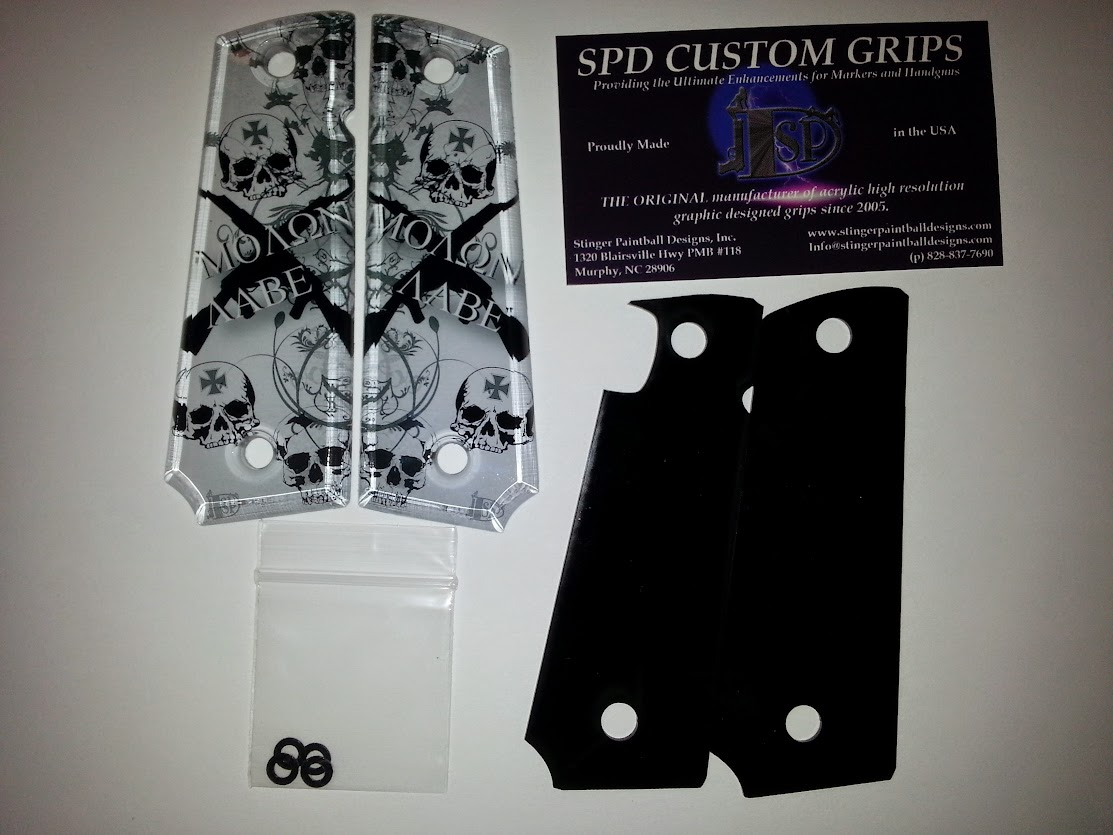 SPD Custom Grips Kit