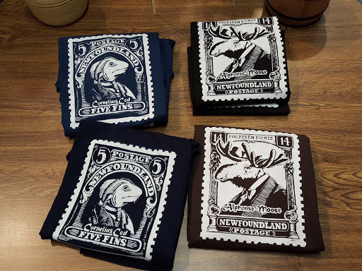 Newfoundland Stamp tshirts! wfoundland and Labrador History Comes Alive at The Rooms