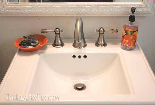 Clean sink for thanksgiving
