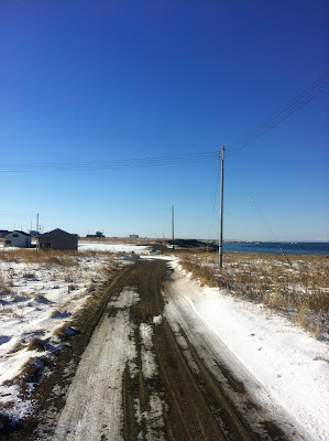 海沿いの小道