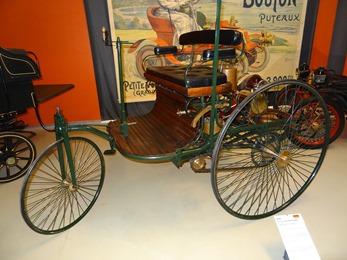 2019.01.20-056 Benz Dreirad Patent Mogtorwagen 1886 Replica 2002