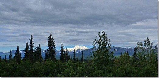 Mt. Denali, north of north view in Denali State Park
