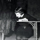 Bertha Miller in JOAN OF LORRAINE - March 1955.  Property of The Schenectady Civic Players Theater Archive.