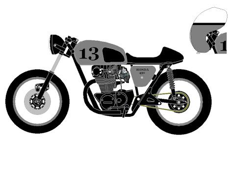 cb 450 rendering