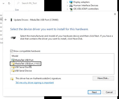 How to Bypass MTK USB Driver