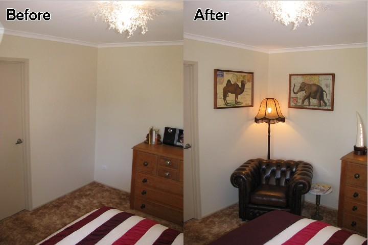 Inspiring ways to put your bedroom corner fashion qe Master bedroom corner decor