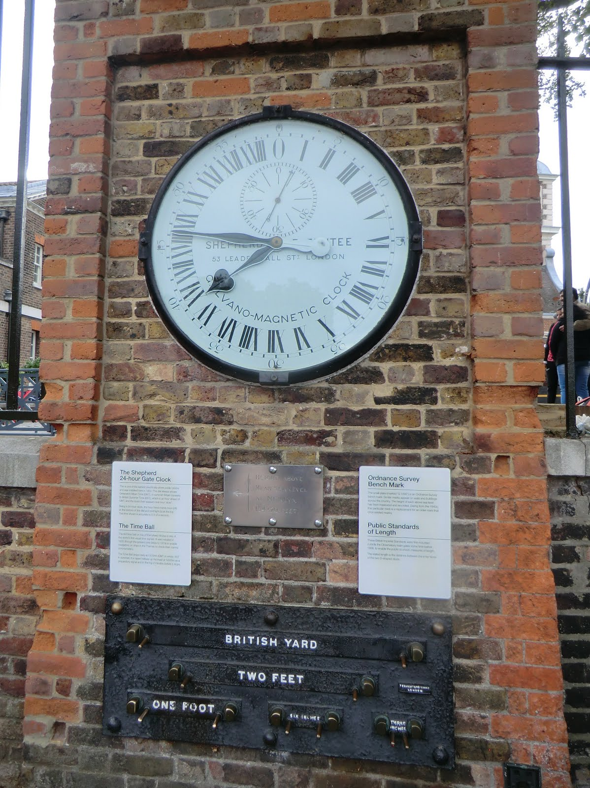CIMG5074 Shepherd Gate Clock and Imperial Measures, Old Royal Observatory