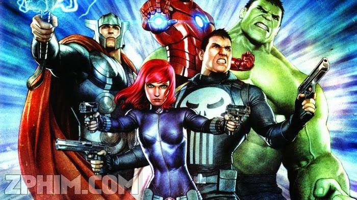 Ảnh trong phim Đặc Vụ Siêu Anh Hùng - Avengers Confidential: Black Widow & Punisher 1