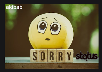 [300+] Sorry Status in Hindi | #Sorry Status# | Sorry Whatsapp Status 2021