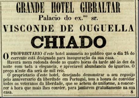 1874 Grande Hotel Gibraltar (Julho)