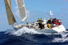 J/39 Sleeper sailing RORC 600 race- antigua