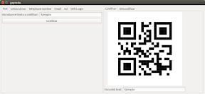 Como crear un código QR para WiFi con GQRCode en Ubuntu - 1