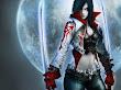 Two Moon Swords Girl