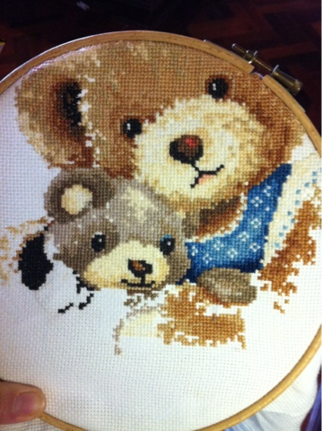 6 Year Cross Stitch