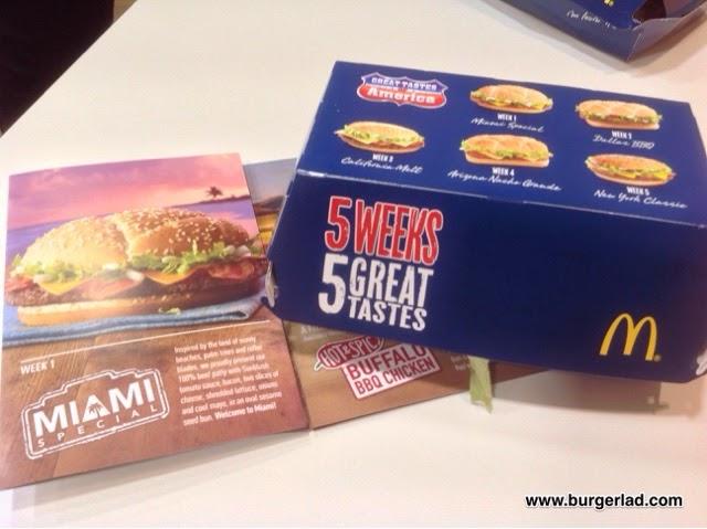 McDonald's Miami Special