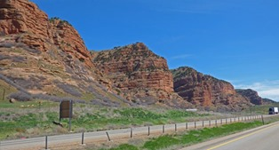 I-80 near Wahsatch, UT