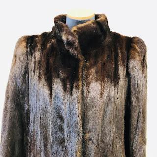 Mink Vertical Pelt Fur Coat