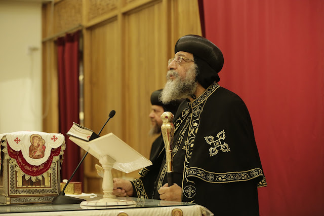 His Holiness Pope Tawadros II visit to St. Mark LA - _09A9062.JPG