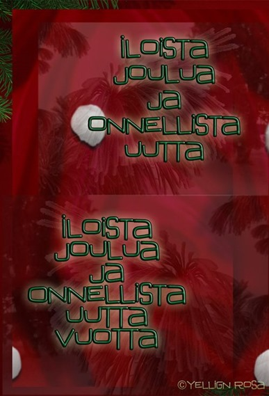 Joulu Final E00 © Yelling Rosa