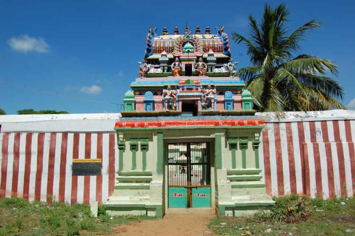 Sri Karumbeswarar Temple, Thirukkaanoor, Thiruvaiyaru - 275 Shiva Temples