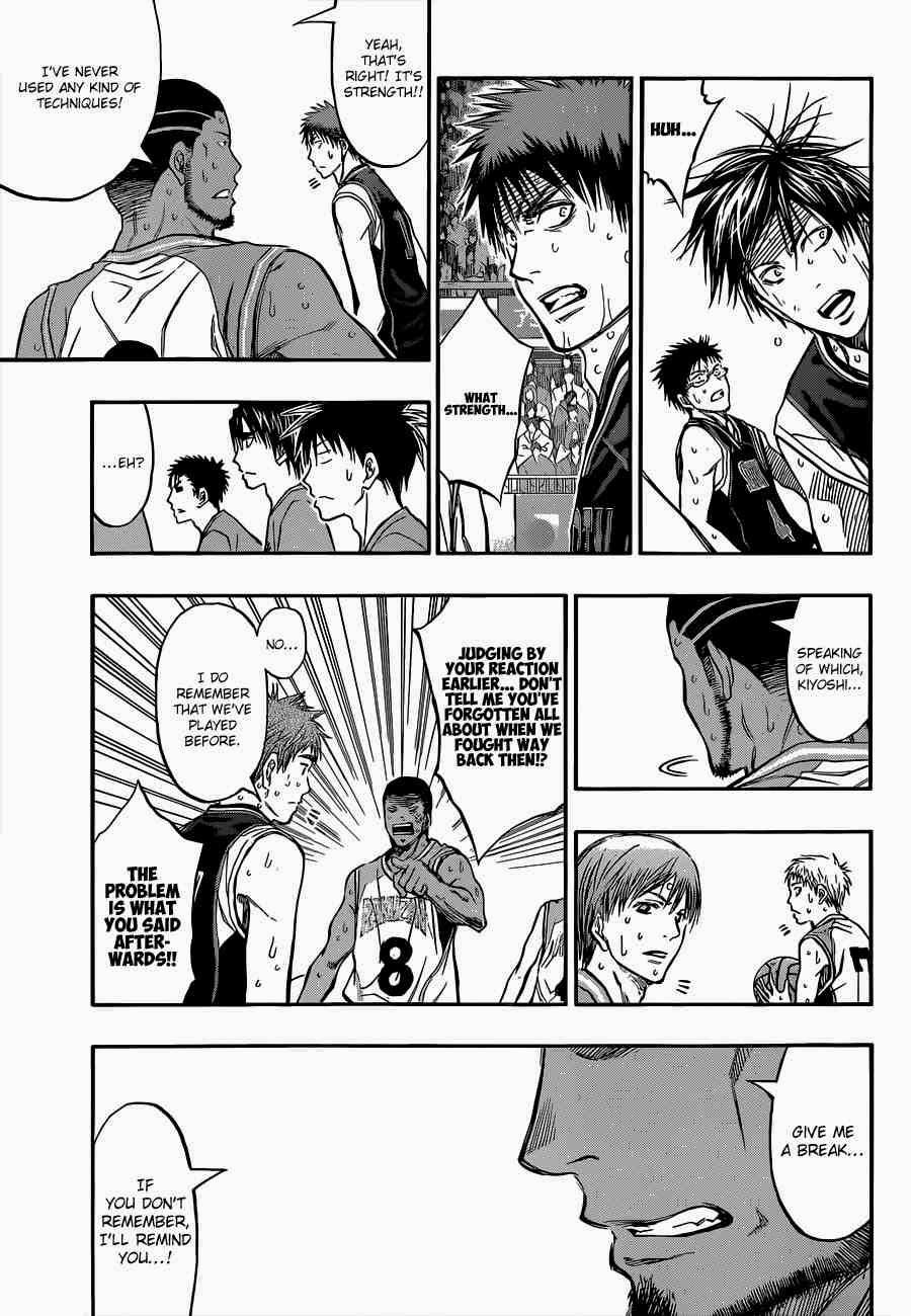 Kuroko no Basket Manga Chapter 243 - Image 15