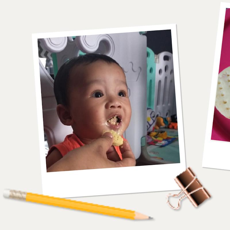 Resepi Biskut Bayi Hanya 3 Bahan. Mudah Nak Buat, Sedap Rasa Lemak