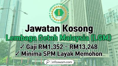 Jawatan Kerajaan Jawatan Kosong Lembaga Getah Malaysia (LGM) – Minima SPM Layak Memohon