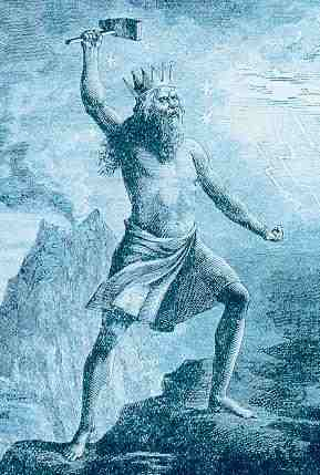 Thor Brandishing Mjollnir, Asatru Gods And Heroes