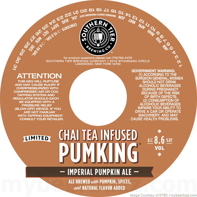 Chai Tea Infused Pumking