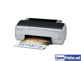 Reset Epson PX-5500 printing device with software