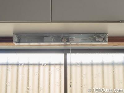 木工用ボンドが乾くまで蛍光灯やカバーをつけずに放置
