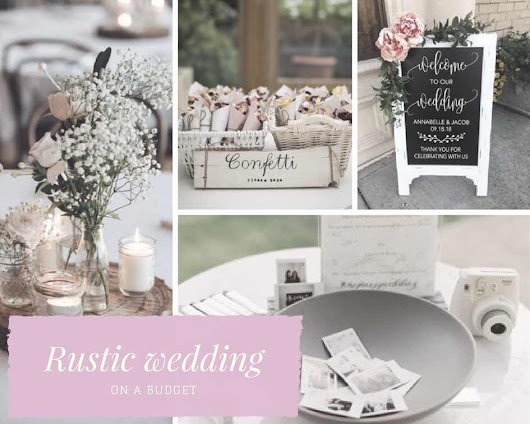A Rustic Wedding On a Budget