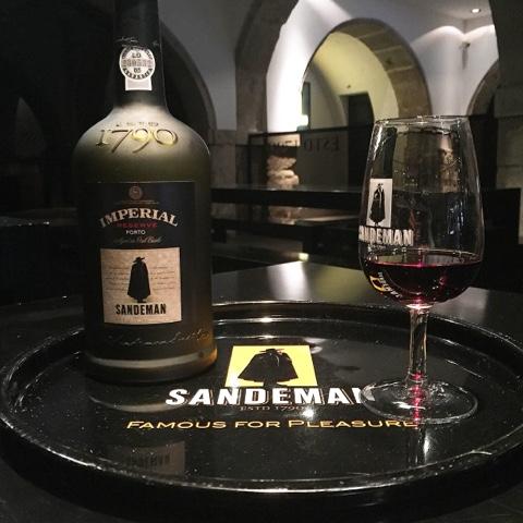 O Imperial Reserve Porto do Sandeman. Delicioso!
