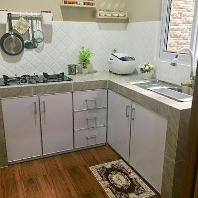 Kitchen set sederhana tapi modern
