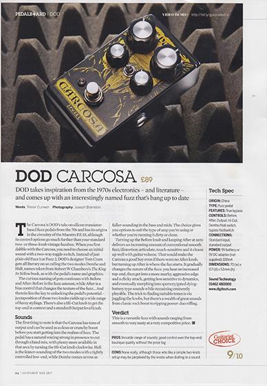 Guitarist carcosa 560