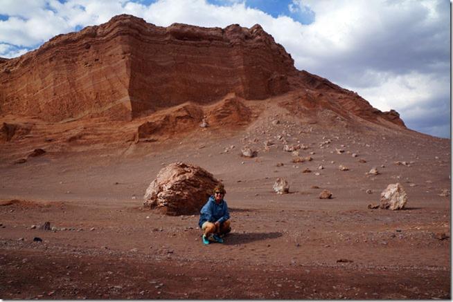 Valle de La Luna, Pedra do Anfiteatro ao fundo