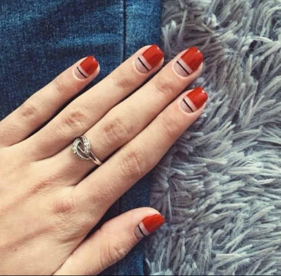 Cute And Simple Nail Designs For Short Nails 2018 1