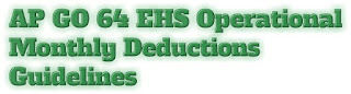 AP GO 64 EHS OPERATIONAL GUIDELINES