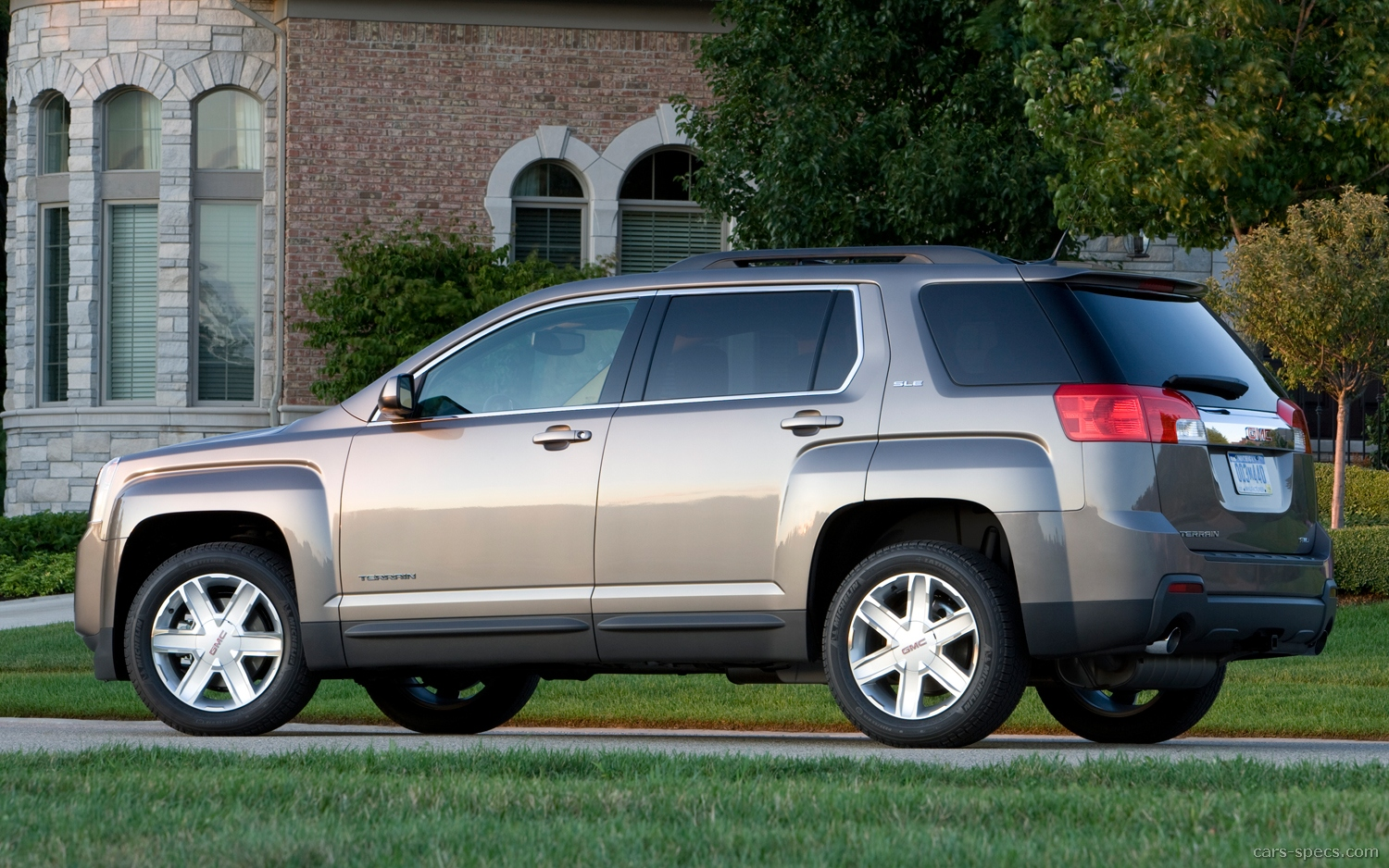 2011 gmc terrain suv specifications pictures prices. Black Bedroom Furniture Sets. Home Design Ideas