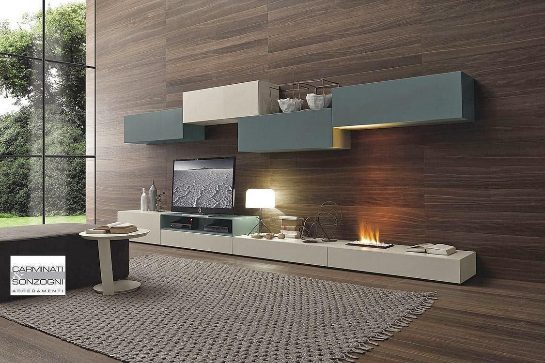 Soggiorni e salotti moderni arredo per la tua casa for Mobili soggiorno bassi
