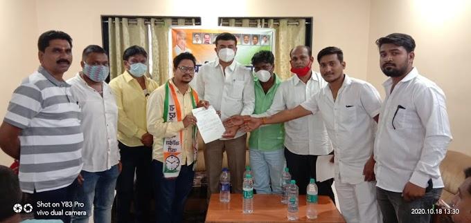चंद्रपुर शहर राष्ट्रवादी युवक काँग्रेस मध्ये युवकाचा प्रवेश