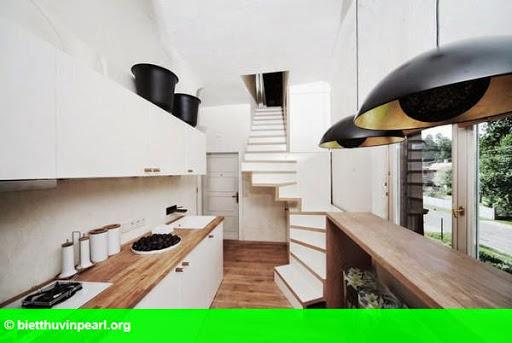 Hình 1: Ngôi nhà 47 m2 nhưng thiết kế siêu đẹp, đủ tiện ích