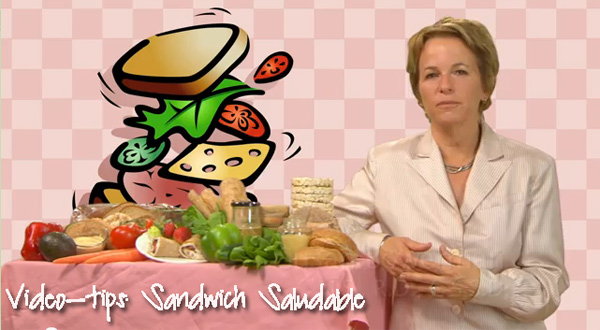 sandwich saludable