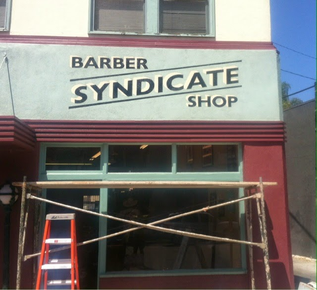 Barber Shop In Long Beach : Lucky B Design: Syndicate Barber Shop Long Beach