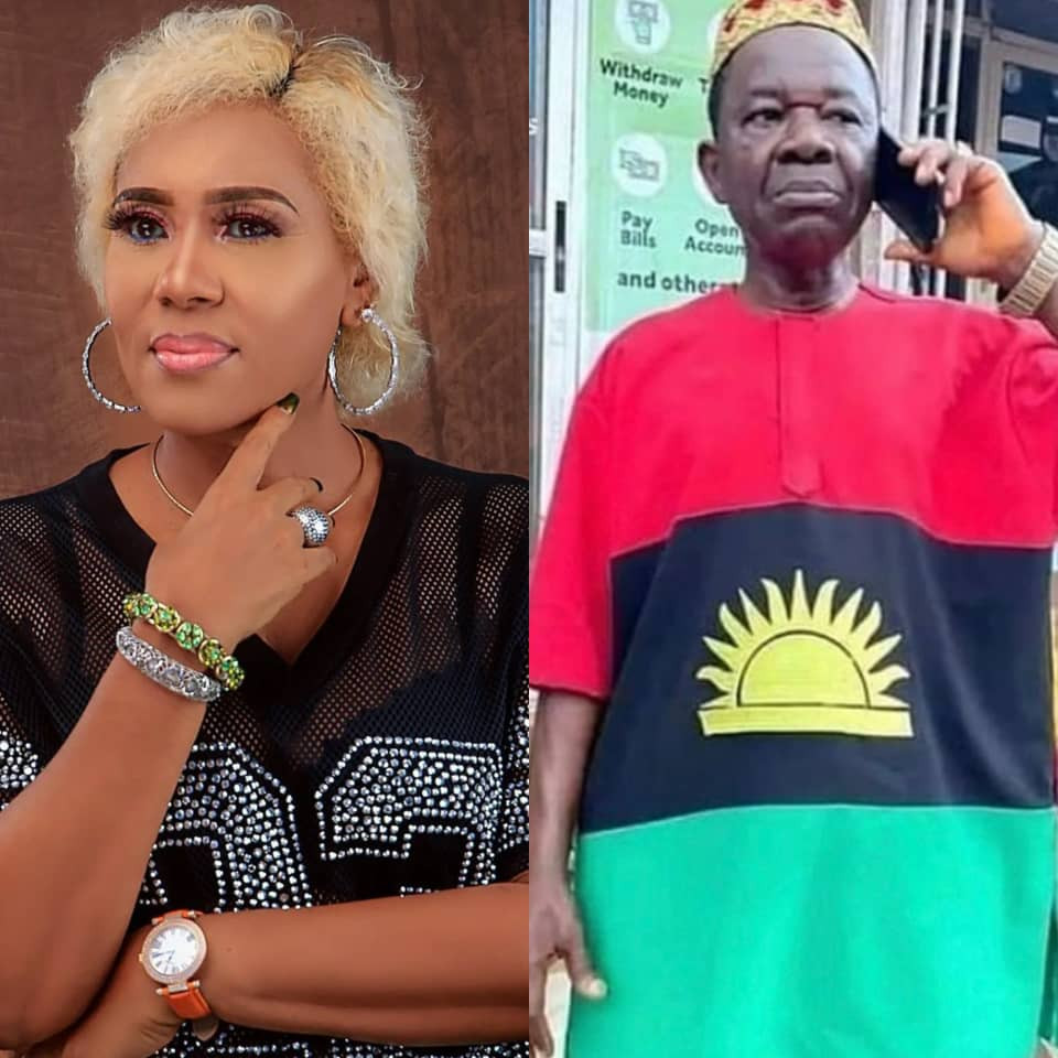 You were clearly wearing a Biafra flag and you should own it with your full chest - Actress Shan George tells Chinwetalu Agu as she condemns his arrest by soldiers