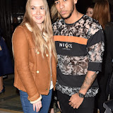 OIC - ENTSIMAGES.COM - Beth Sherburn and Josh Daniel at the  LFW a/w 2016: Barrus - catwalk show London 19th February 2016 Photo Mobis Photos/OIC 0203 174 1069